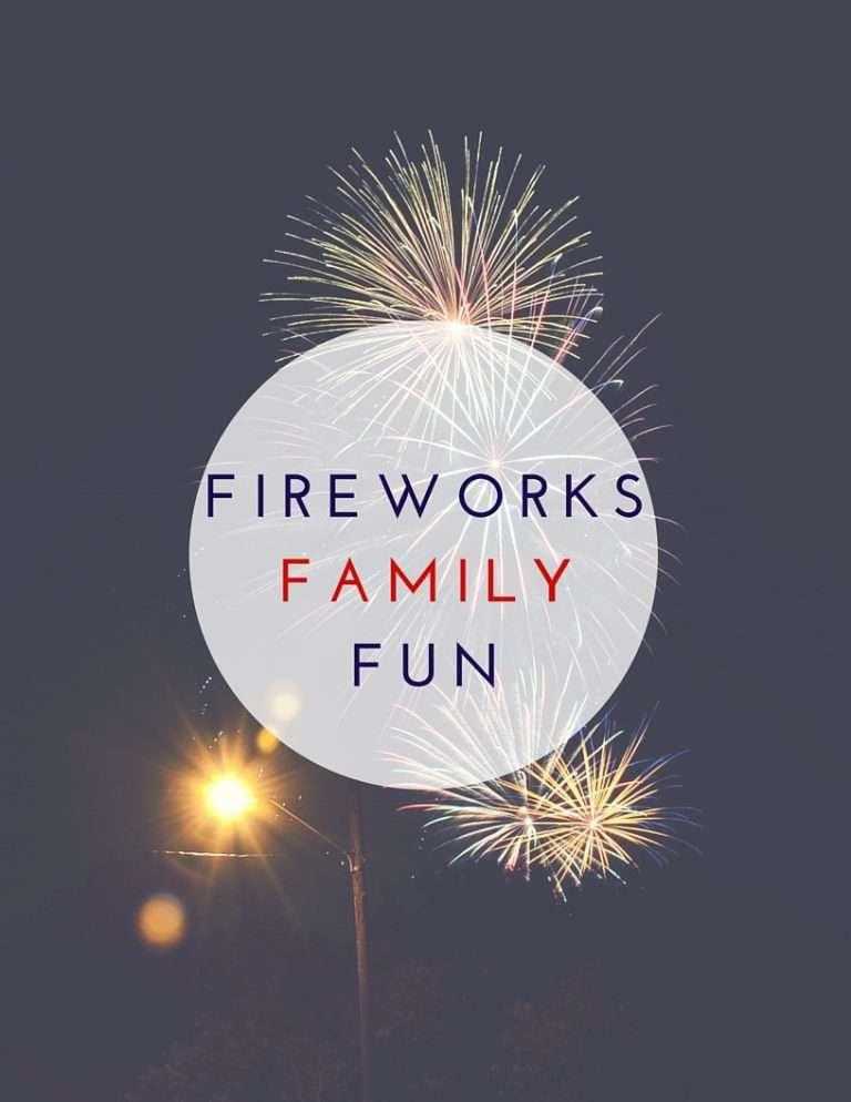 Fireworks Family Fun Printable