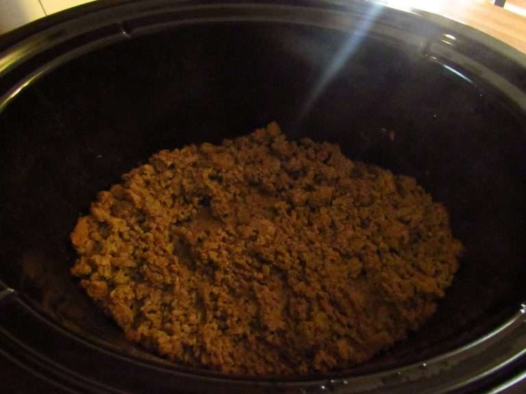 crockpot ground beef