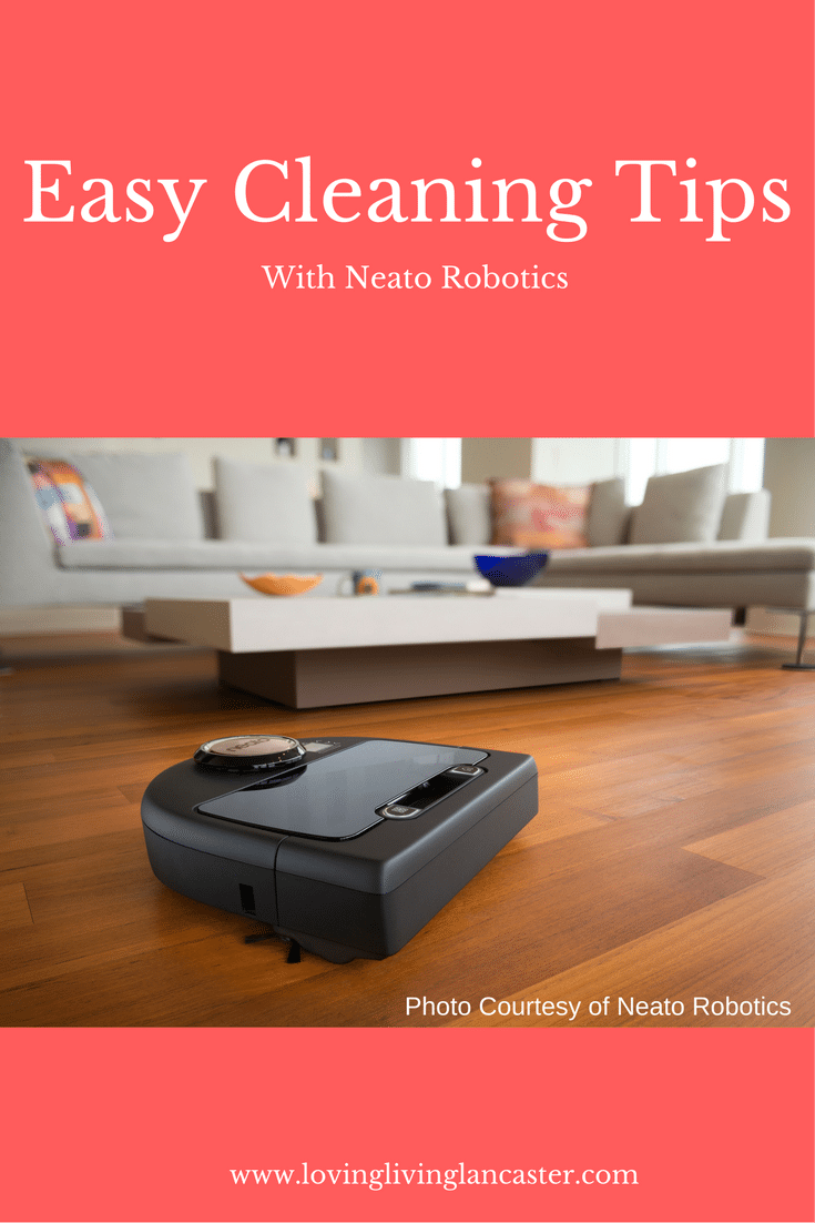 3 Easy Cleaning Tips with Neato Robotics