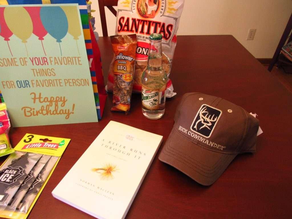 Birthday gift ideas for guys