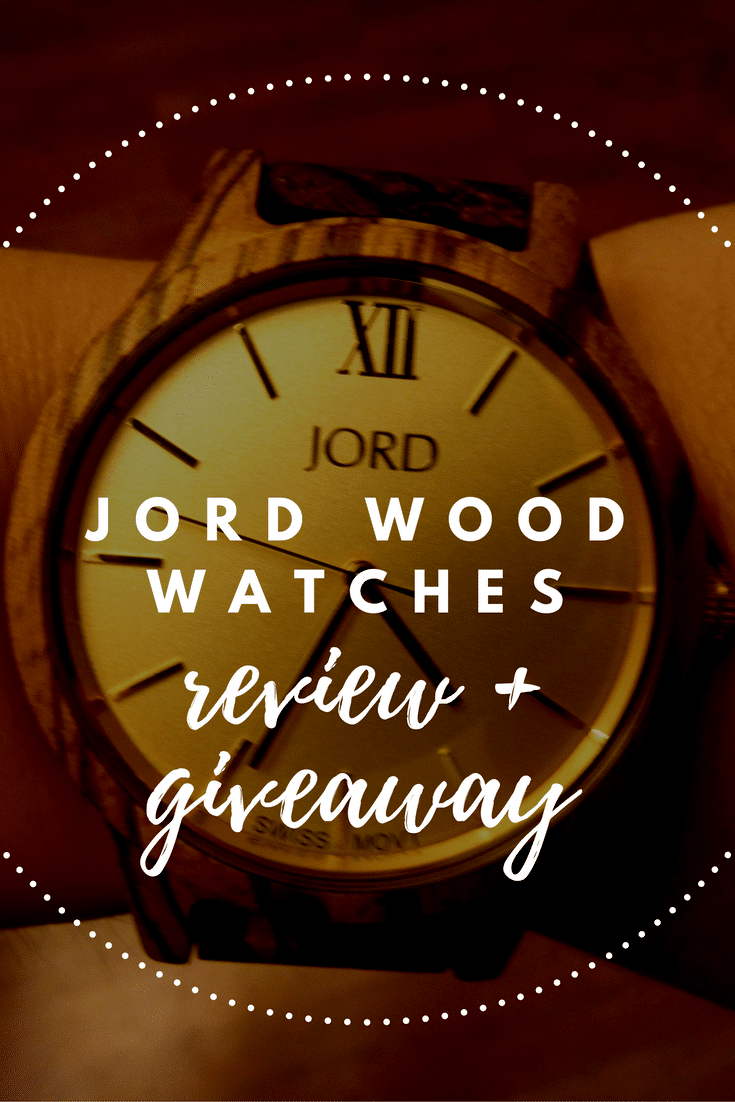 Jord Wood Watches Review + Giveaway