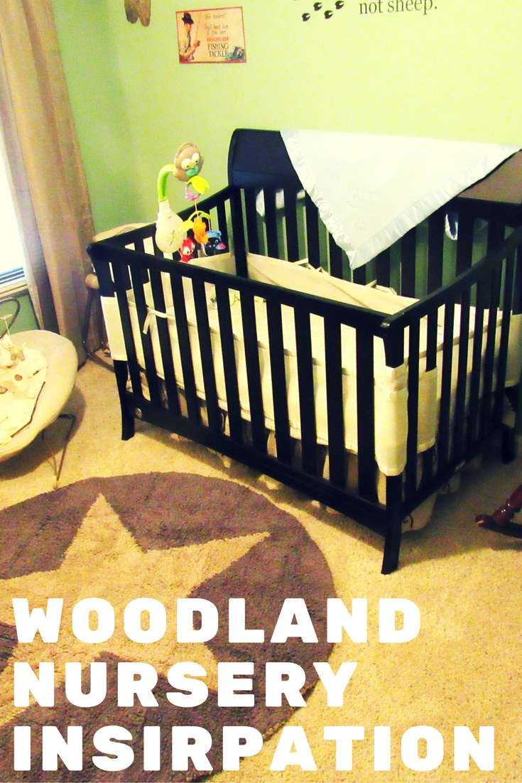 Woodland Nursery Inspiration with Lorena Canals Rugs #ad