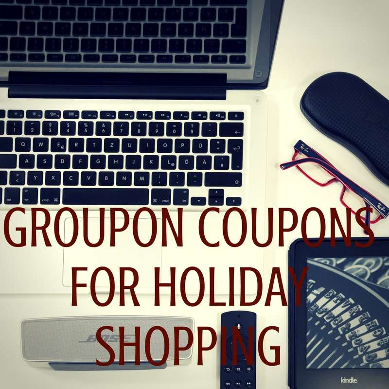 Save Money Holiday Shopping with Groupon Coupons