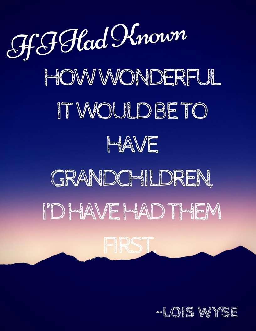 5 Free Grandparent's Day Printables