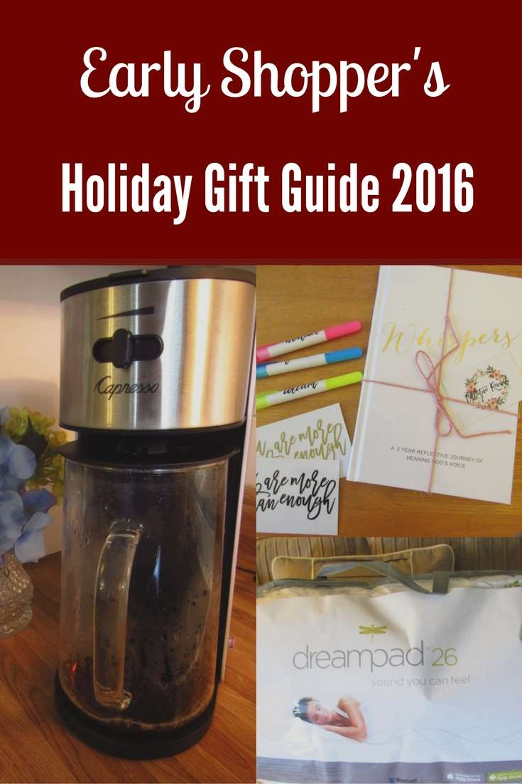 Early Shopper's 2016 Holiday Gift Guide