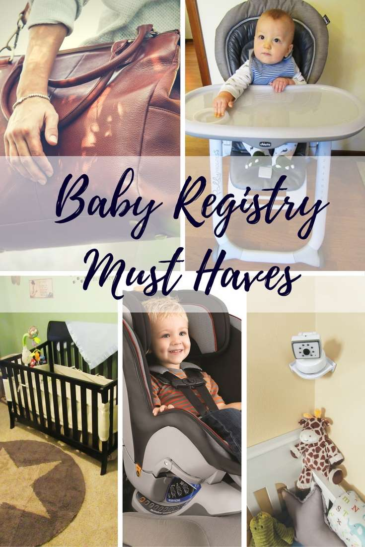 2016 Baby Registry Must Haves