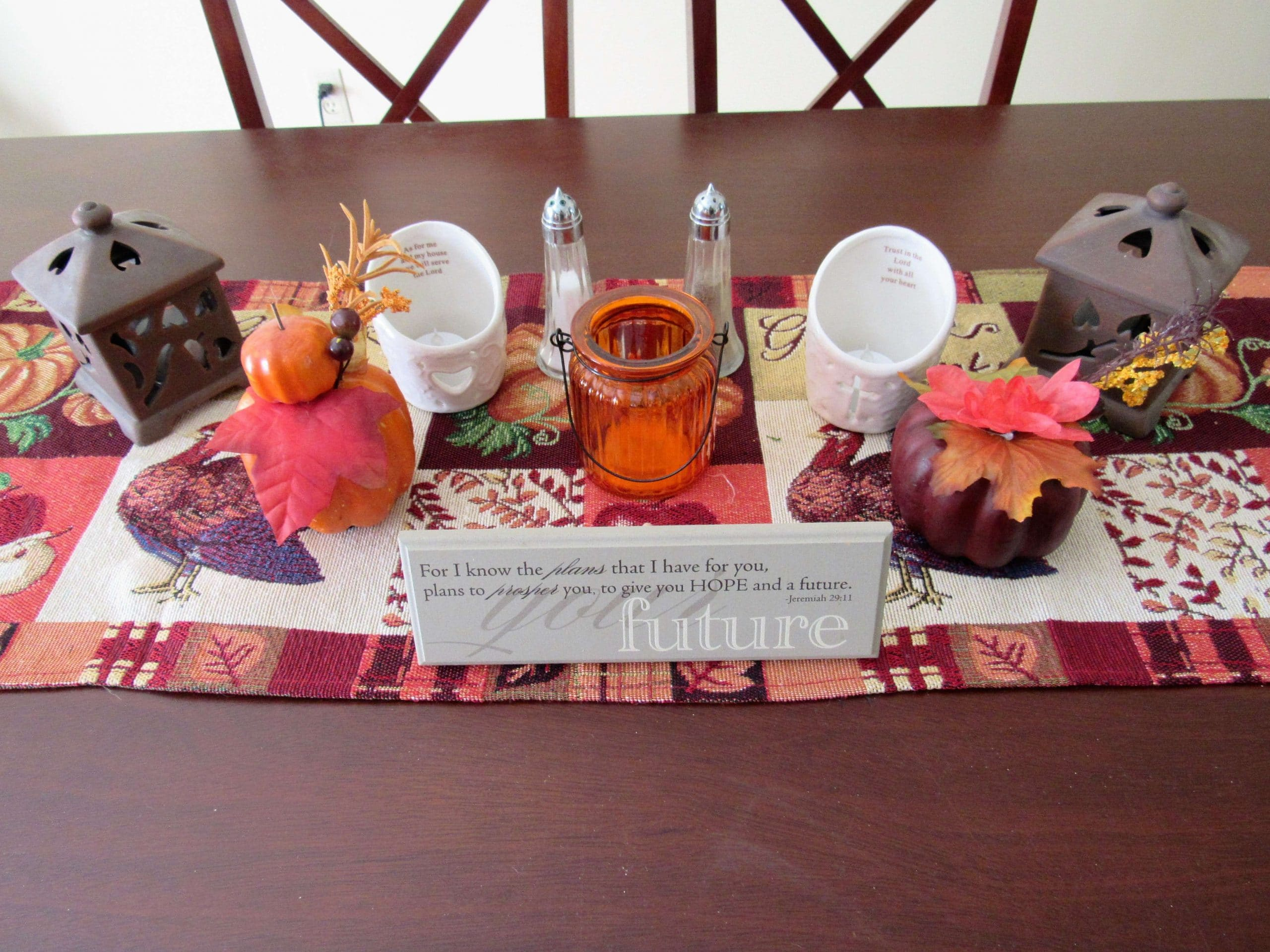DIY Fall Tablescape