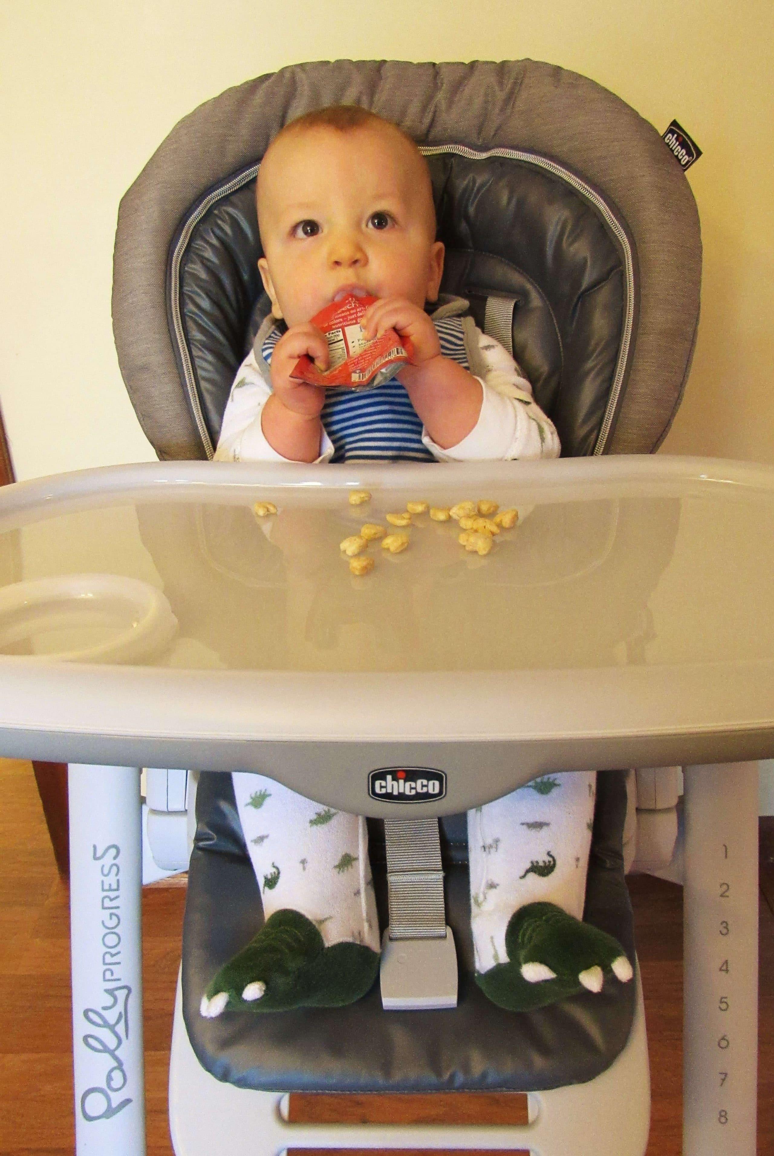 Teaching Baby How to Self Feed