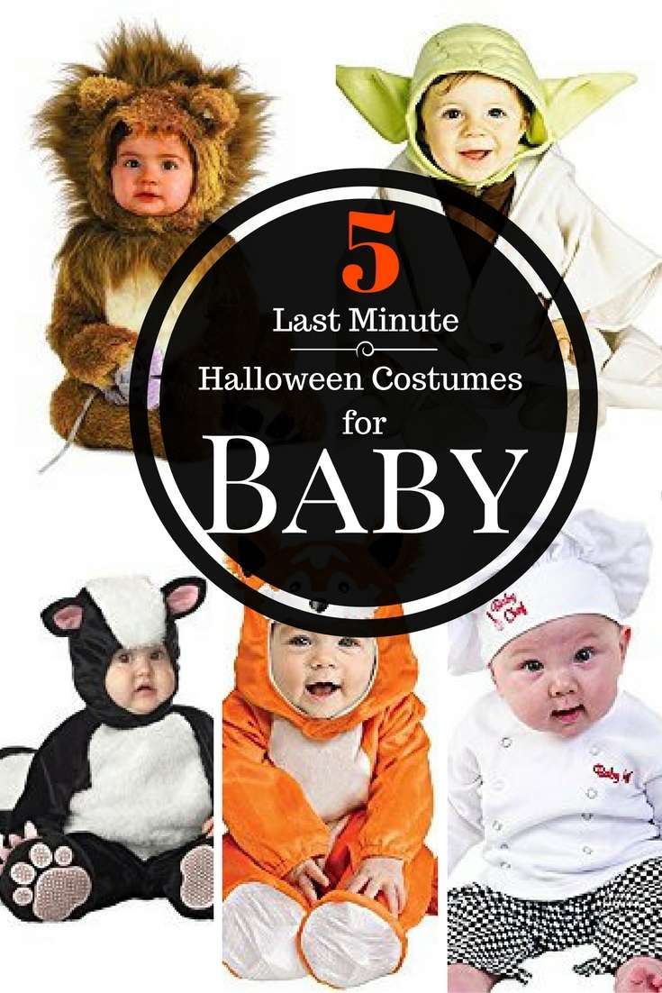 5 last minute halloween costumes for babies loving. Black Bedroom Furniture Sets. Home Design Ideas