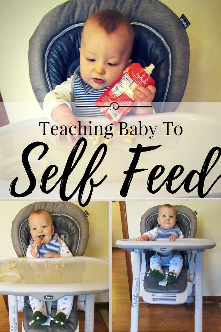 Teaching Baby to Self Feed