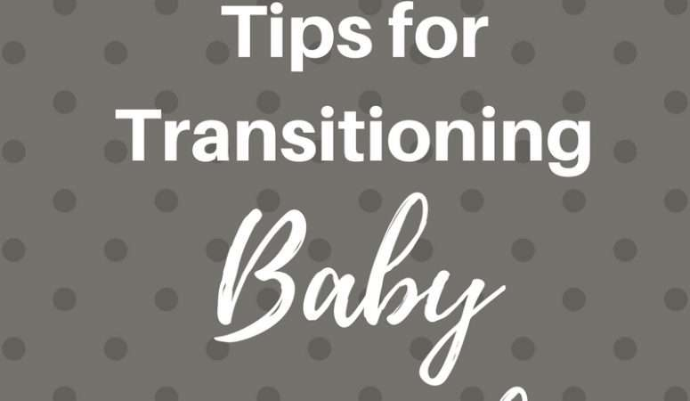 3 Tips for Transitioning Baby to Crib