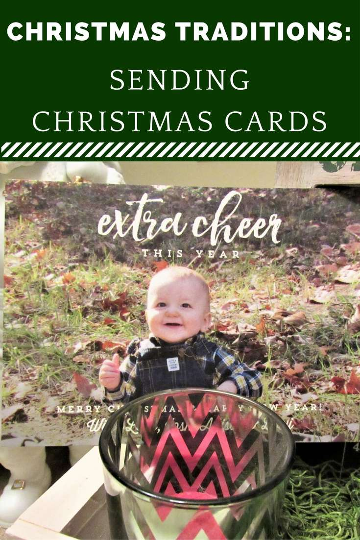 Christmas Traditions: Sending Christmas Cards - Why we send Christmas cards each year