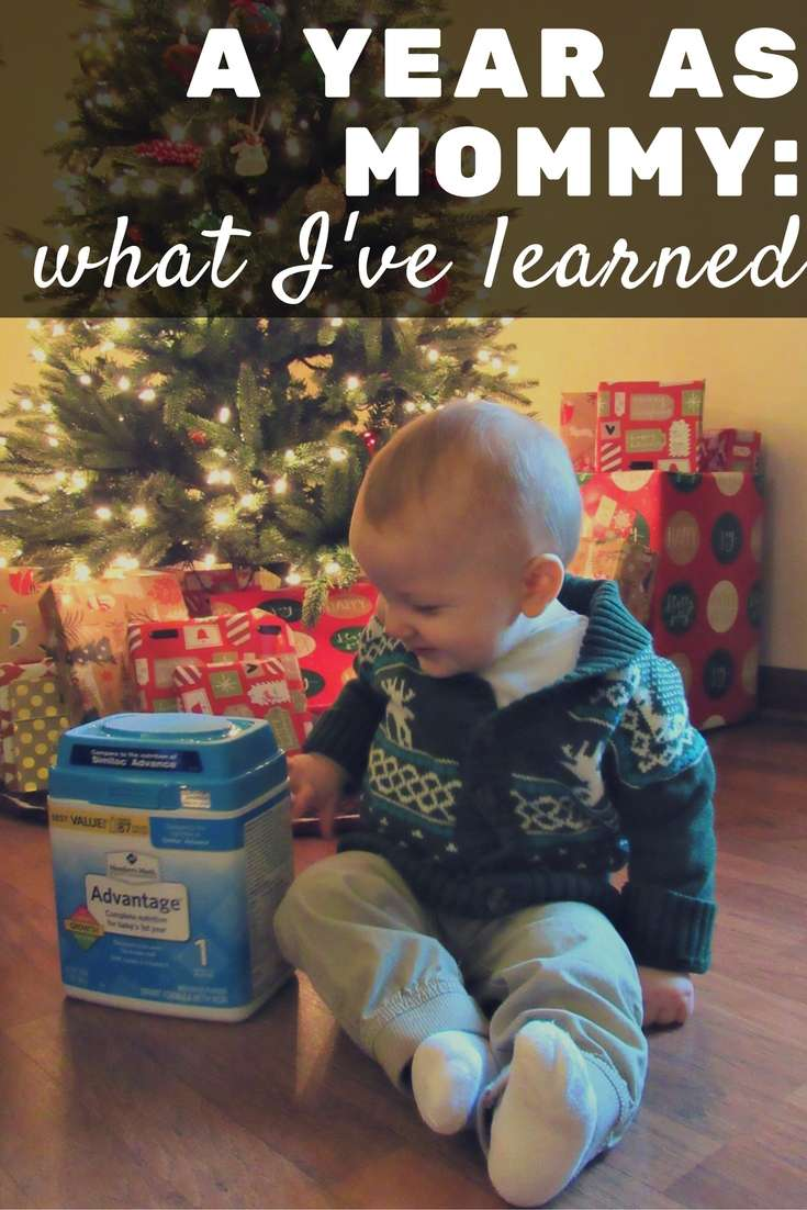 A Year As Mommy: What I've Learned with MMbabyformula {AD}