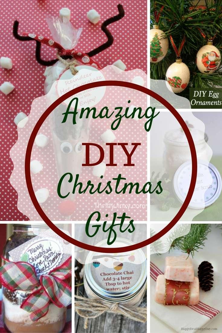 Amazing DIY Christmas Gifts