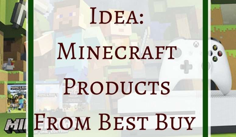 Holiday Gift Idea: Minecraft Products From Best Buy