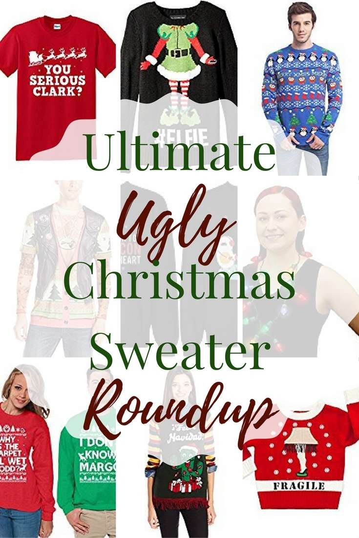 THE Ultimate Ugly Christmas Sweater Roundup!