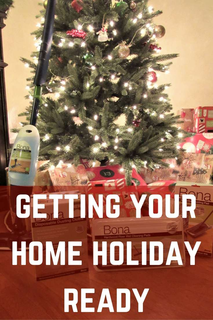 Getting Your Home Holiday Ready with Bona {AD}