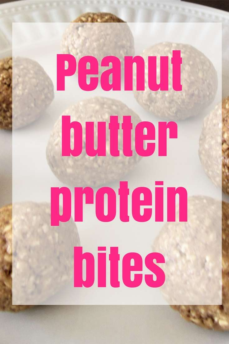 Peanut Butter Protein Bites | Healthy Snack | Easy Snack | Make Ahead Breakfast