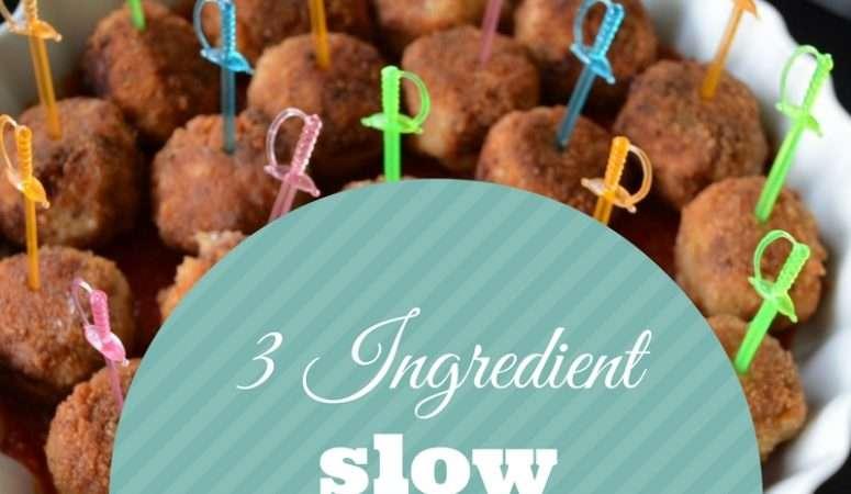 3 Ingredient Meatball Appetizer Recipe