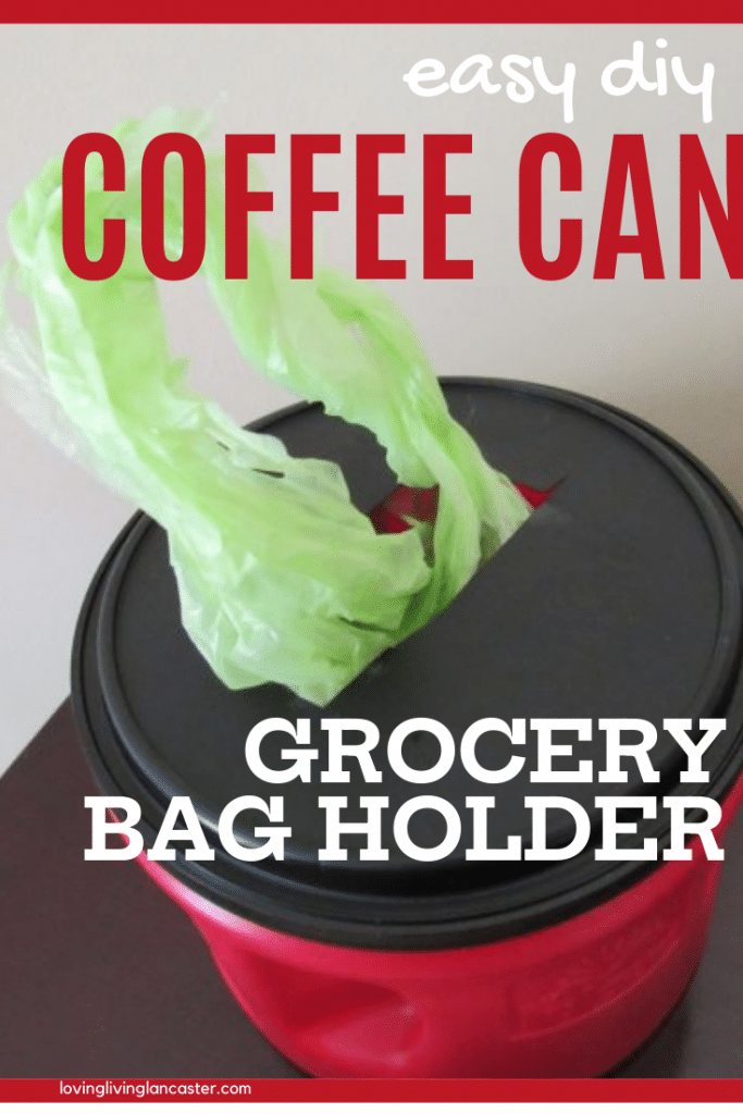 coffee can bag holder