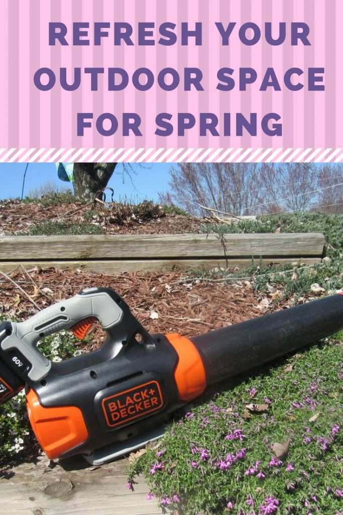Refresh Your Outdoor Space this Spring #ad