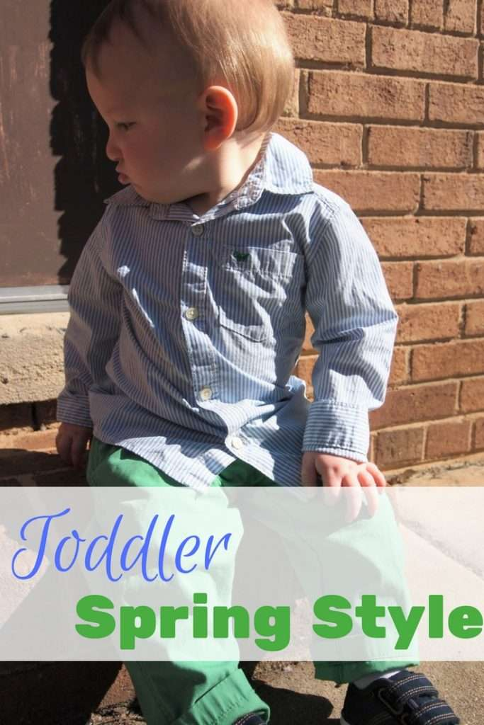 2017 Toddler Spring Style Ideas #PlayAllDay #ad @kohls