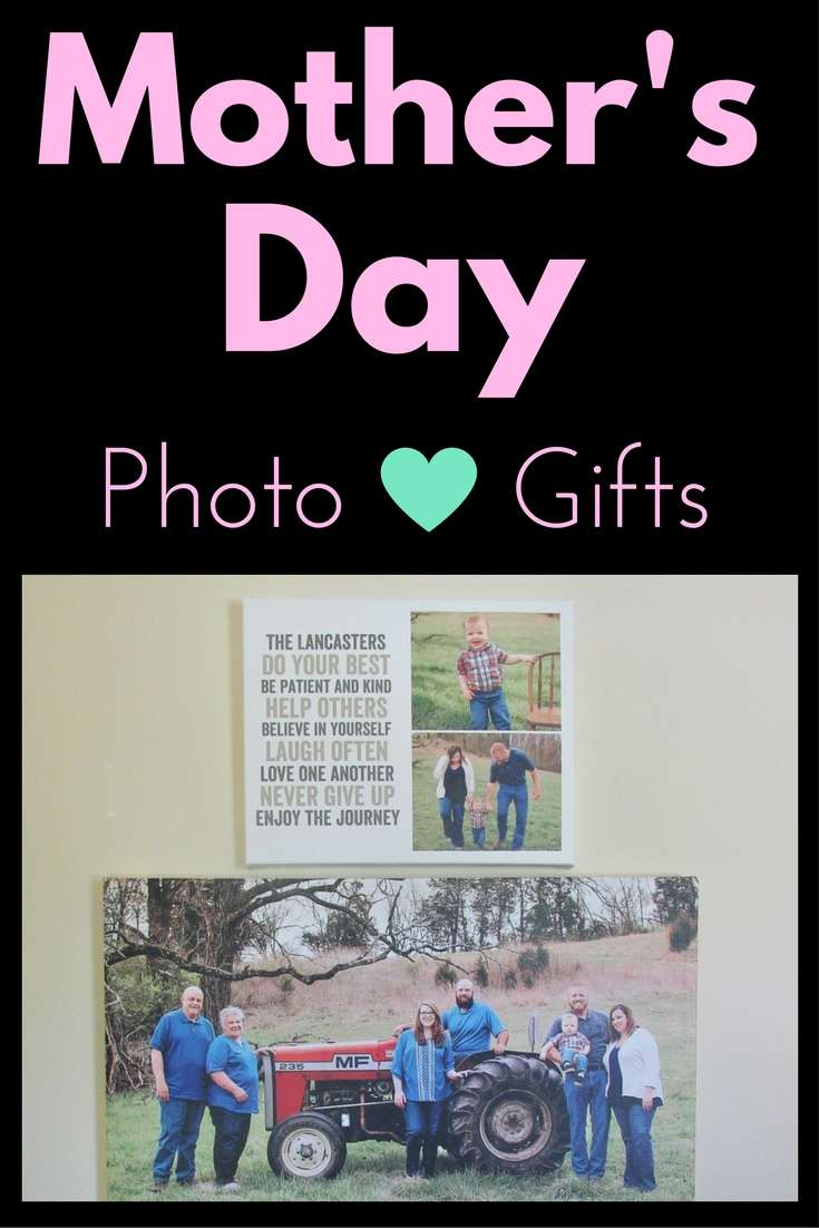 2017 Mother's Day Photo Gift Guide with Shutterfly #ad