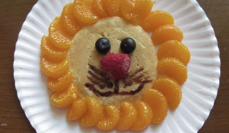 Fruity Lion Snack: A Fun Treat for Kids