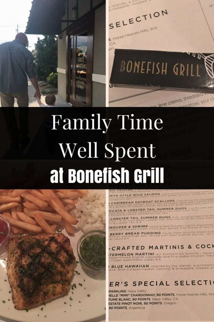 Family Time Well Spent at Bonefish Grill | Staycation | Dining Out