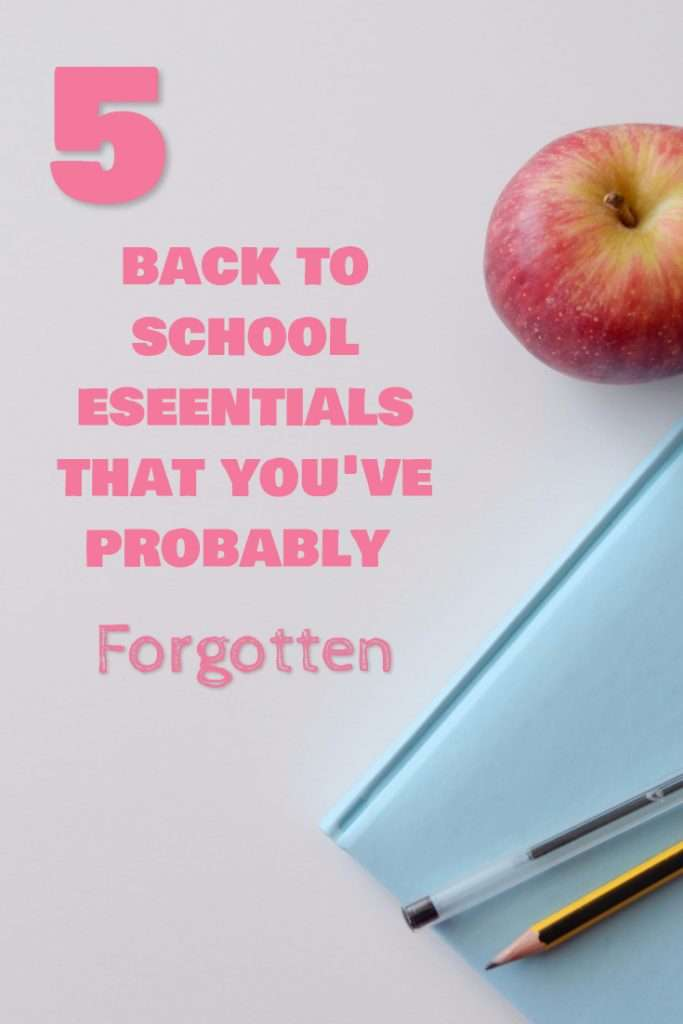 AD 5 Back to School Essentials that you've probably forgotten with @kohls! #GameOn #KohlsBackToSchool
