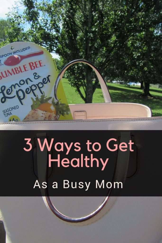 As moms, we are constantly on the go. I'll be the first to admit, I often forget to take care of myself. Recently, I've been more focused on getting healthy, not only for myself but for my family! With @BumbleBeeFoods Seasoned Tuna Pouch with Spoon, I can do just that! AD