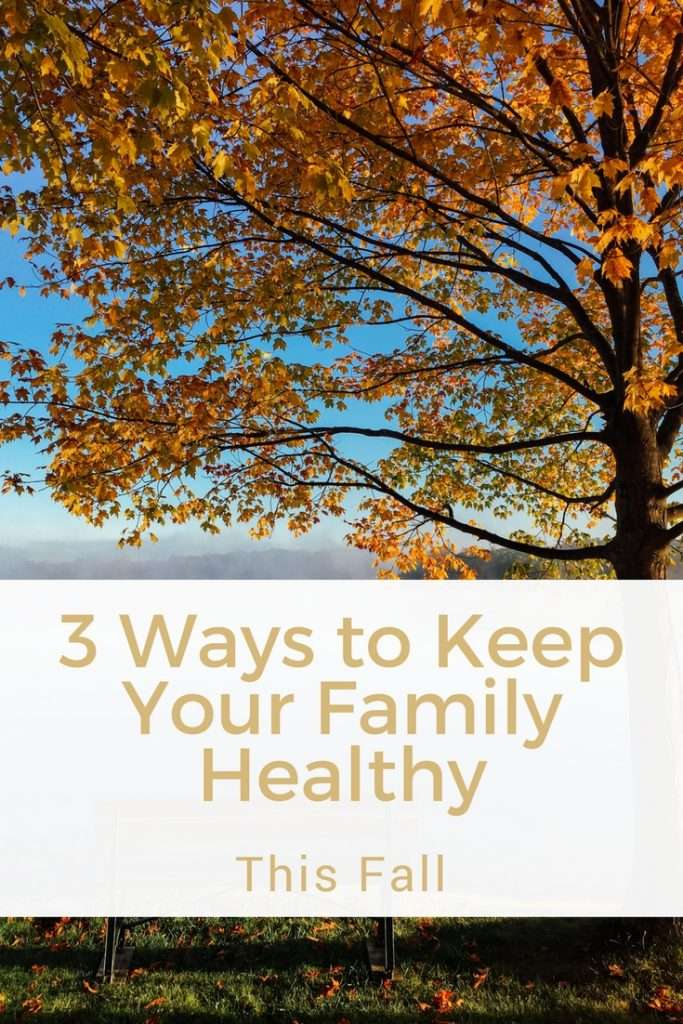 3 Ways to Keep your Family Healthy This Fall