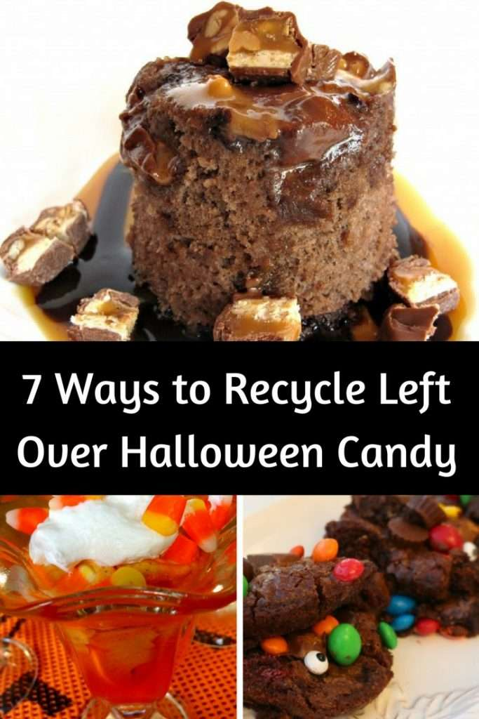 7 Ways to Reuse Leftover Halloween Candy | Recipe with Candy | Halloween Tips