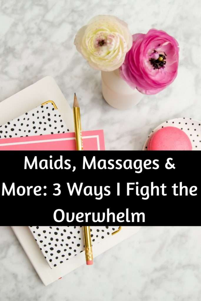 Being a mom can be overwhelming, today I'm sharing 3 ways to fight the mom guilt and overwhelm that we all face as moms and women.