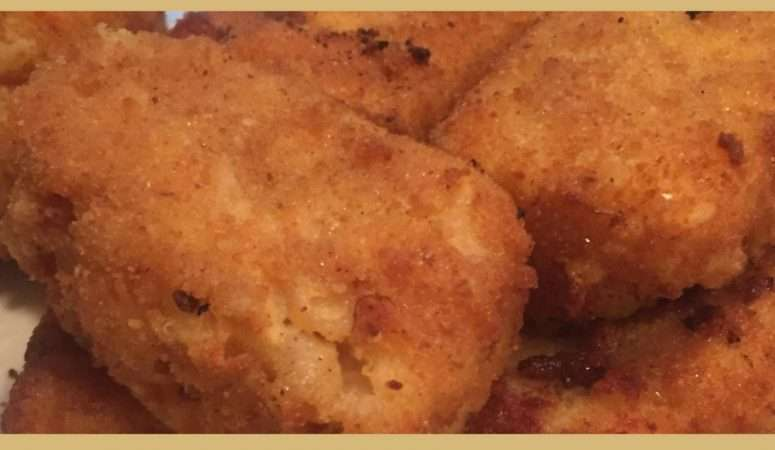 Easy Fried Mac and Cheese Recipe