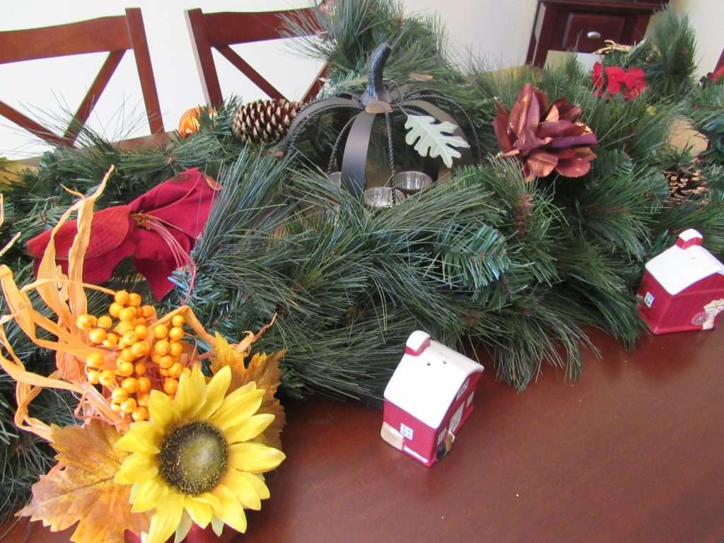 Fall to Winter Tablescape