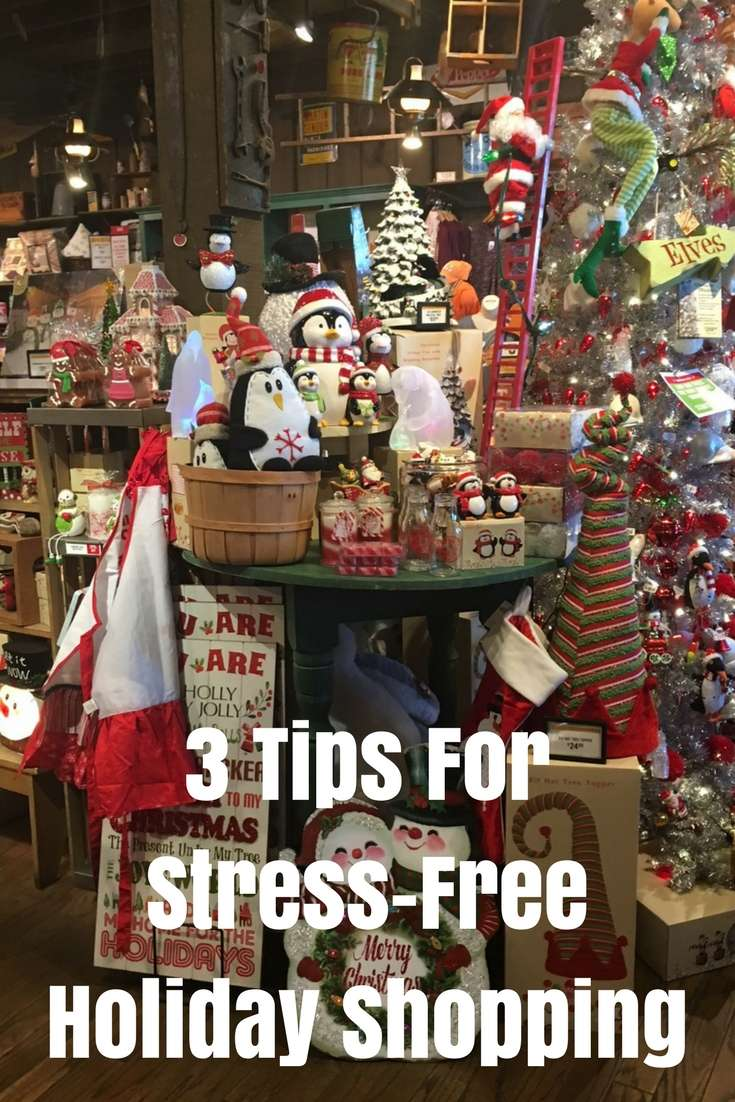 This year, I'm doing all that I can to make it an easy and fun holiday season! Here are 3 tips for stress-free holiday shopping. #holiday #christmas #holidayshopping #giftguide
