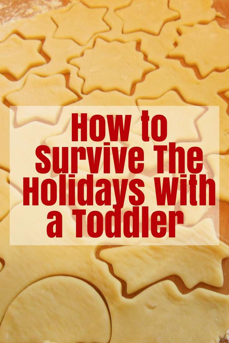 How to Survive The Holidays With a Toddler  #toddler #holidays #christmas
