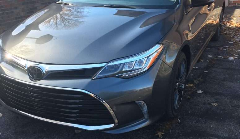 Let's Go Places: 2017 Toyota Avalon