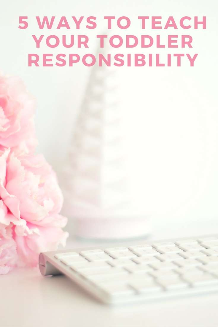 5 Ways To Teach Your Toddler Responsibility Plus FREE Age Appropriate Chore Infographic! #ad #ecloth #cleaning #toddler
