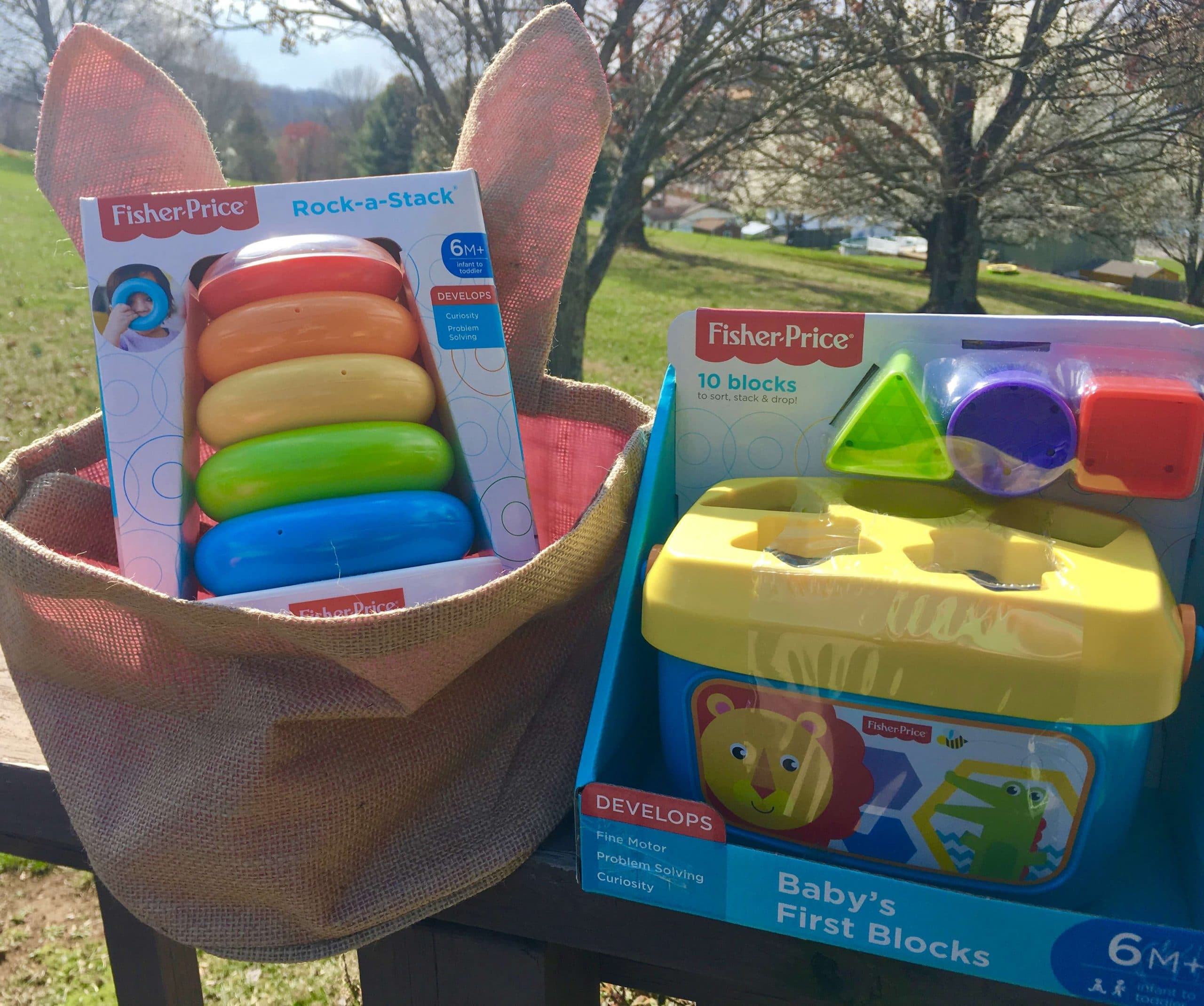 Easter Basket Ideas For Infants #AD #EasterFunWithWalmart