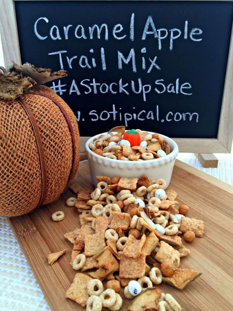 Carmel Apple Trail Mix