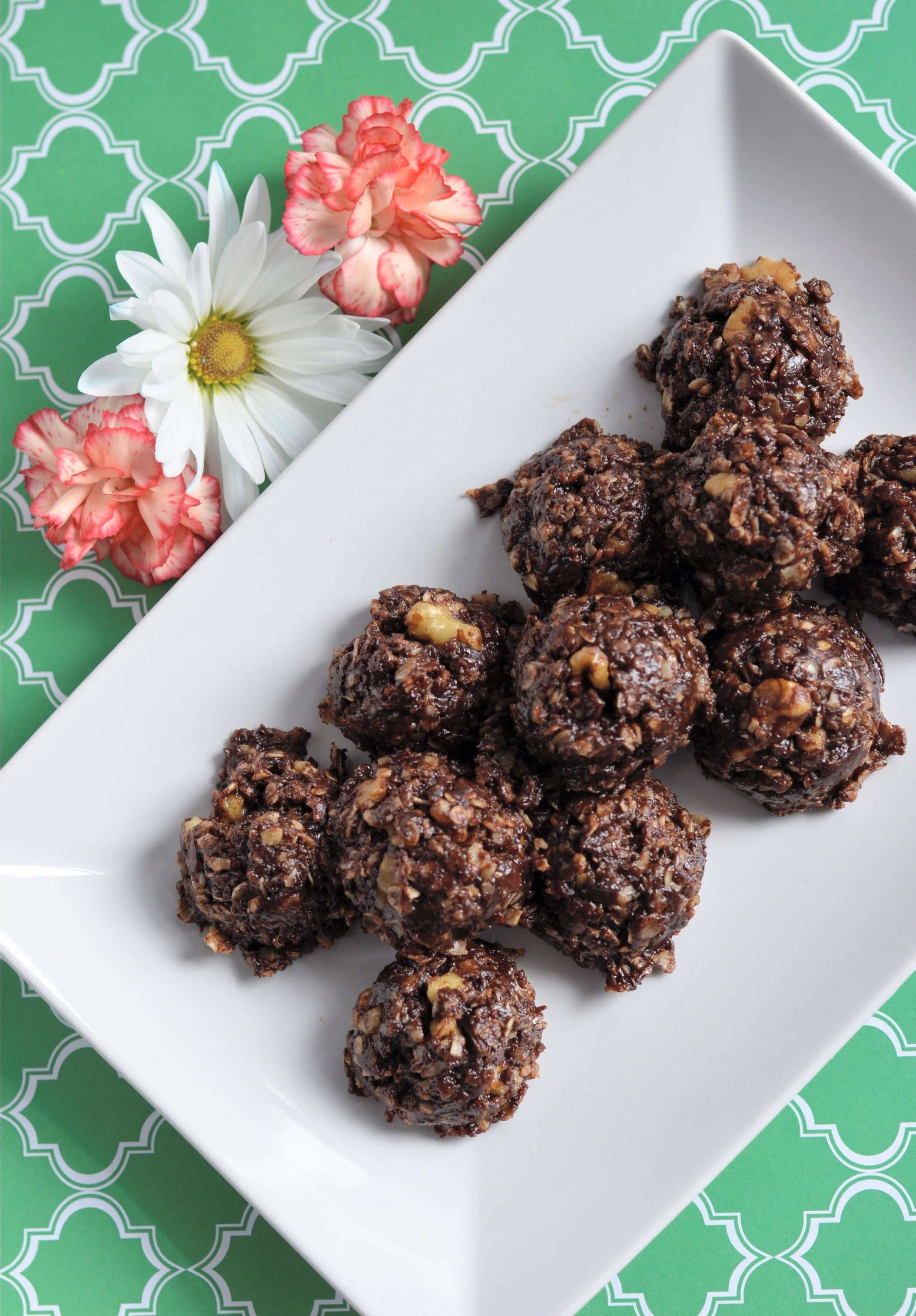 completed no bake lactation cookies