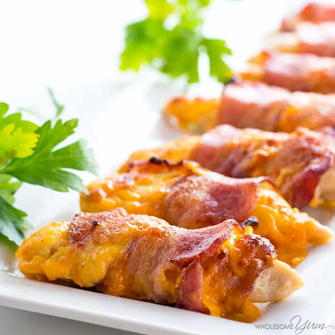 Bacon Wrapped Chicken Tenders Freezer Meals For New Moms