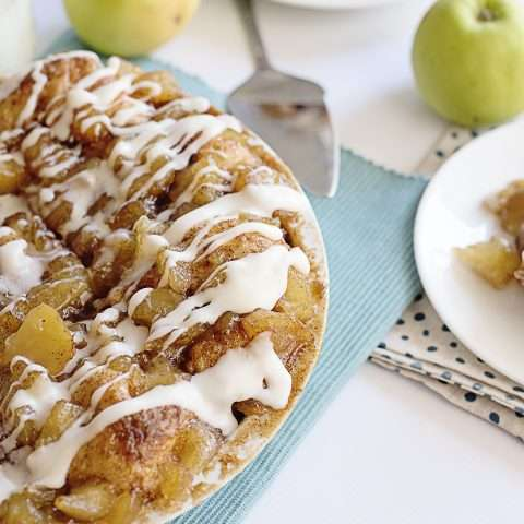 Apple Pie Biscuit Bake