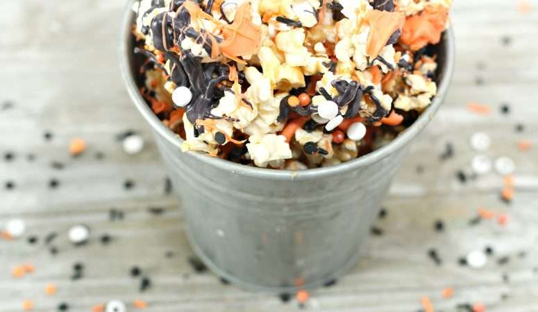 Caramel Monster Popcorn