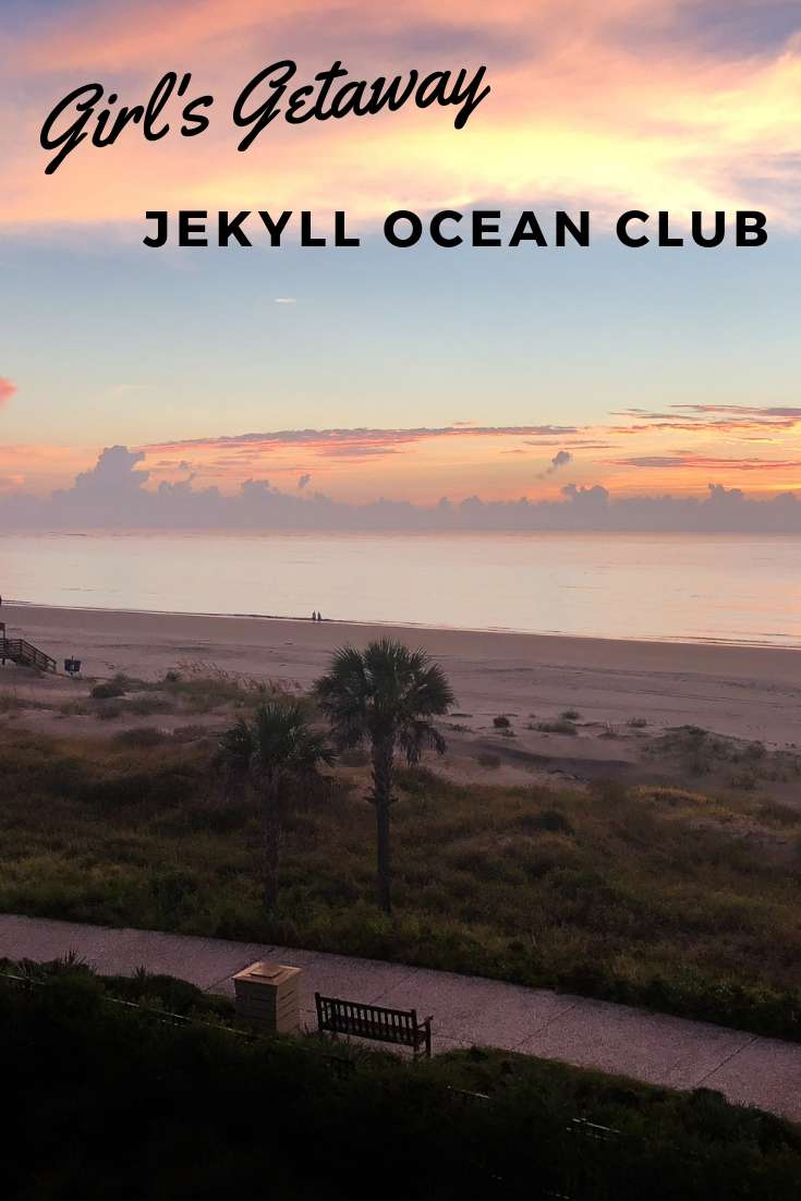 Our trip to Jekyll Ocean Club in Jekyll Island, Georgia set the bar high for future girls' beach trips! | Jekyll Island | Girls' Getaway | Beach With Baby
