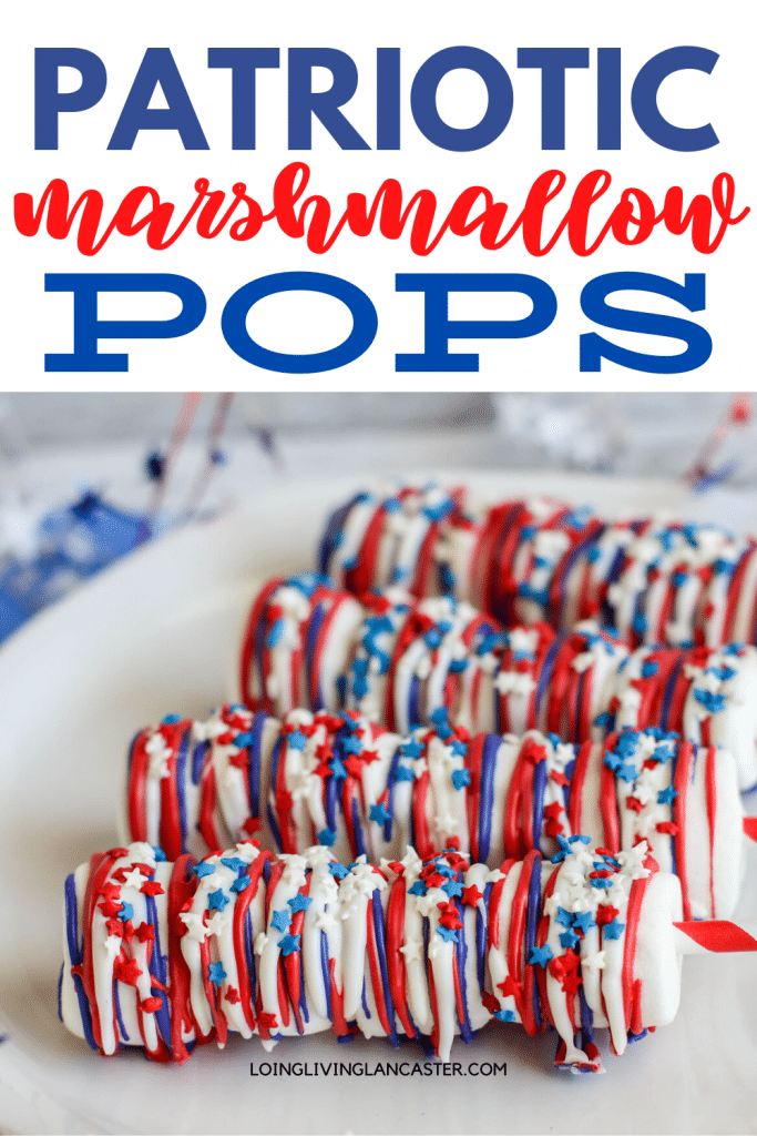 marshmallow pops on plate