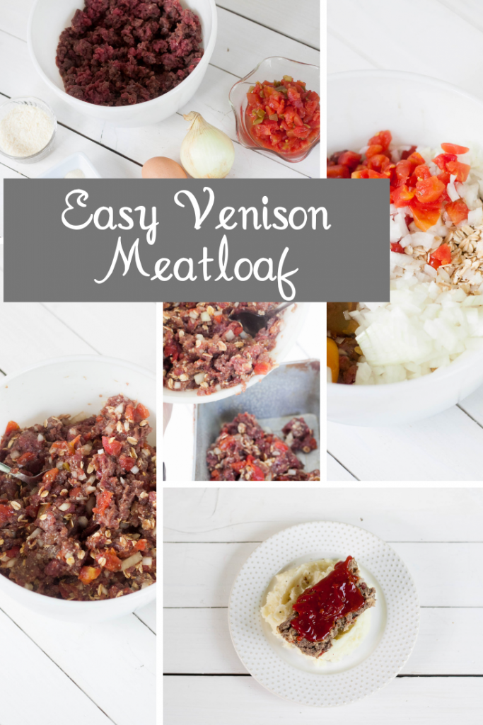 steps to making venison meatloaf