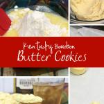 making bourbon butter cookies